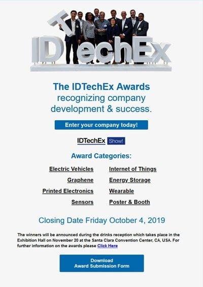Awards HTML email