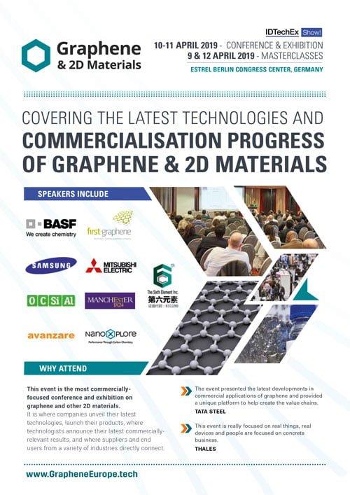 Graphene & 2D Materials Europe 2019