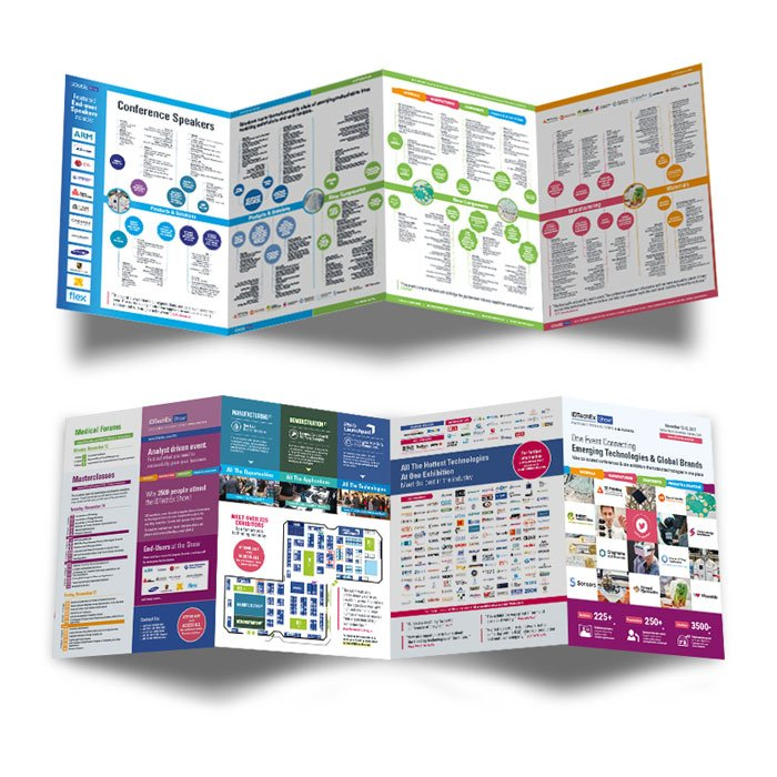 8 page Accordeon Fold infographic pamphlet