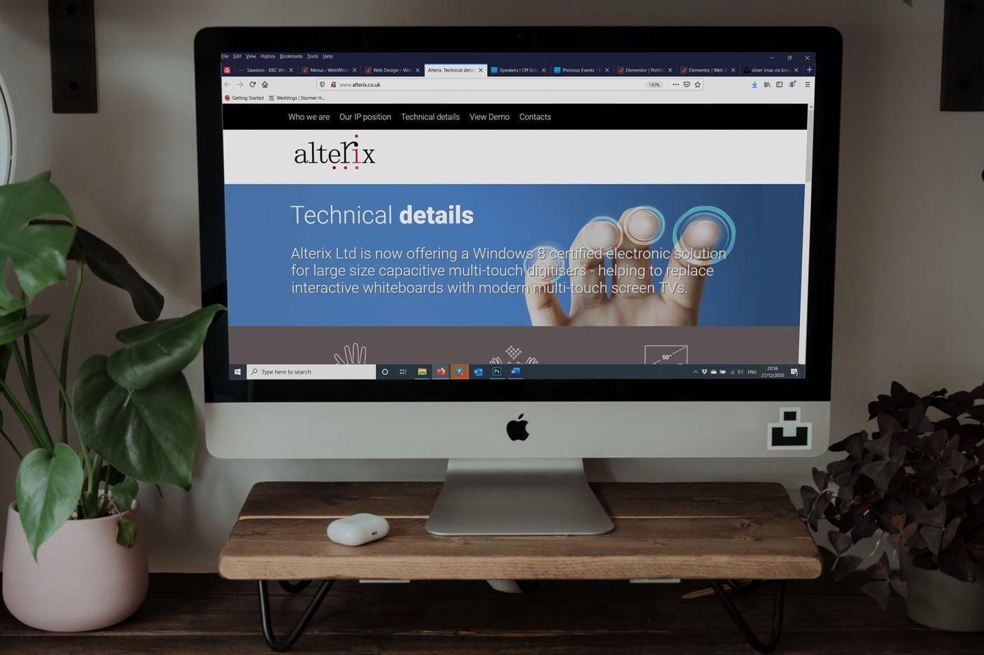 Website for Alterix